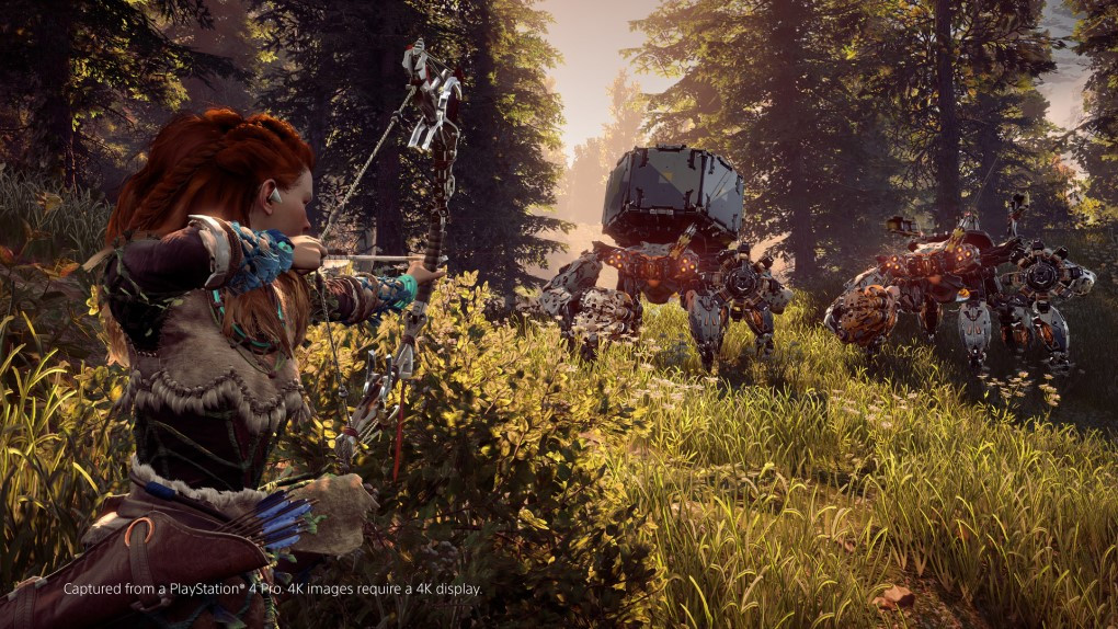 Horizon: Zero Dawn gameplay